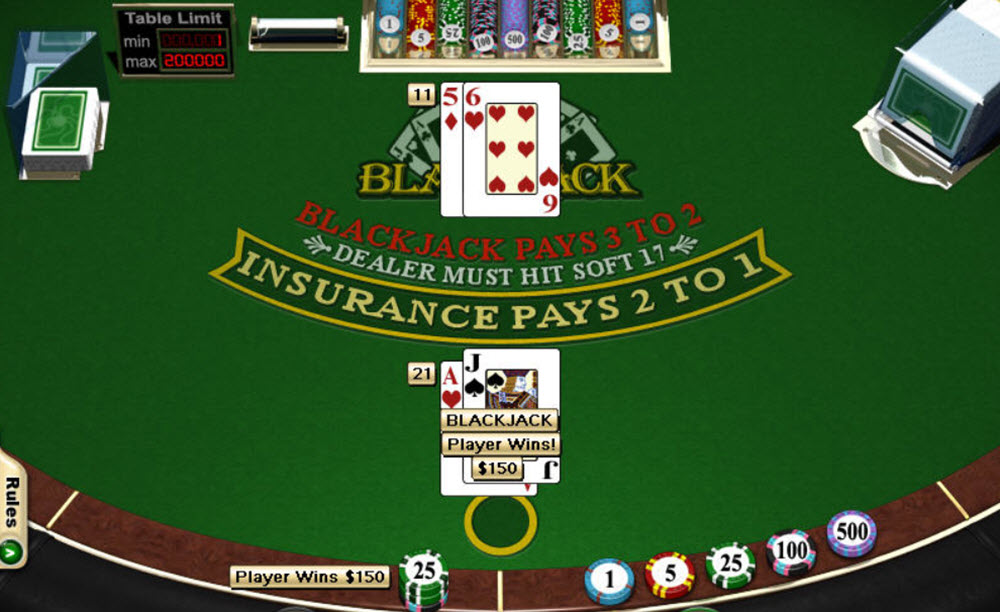 blackjack spel